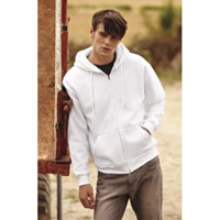 FOTL Mens Classic Hooded Sweat Jacket