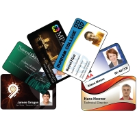 Photo ID cards (solid plastic)