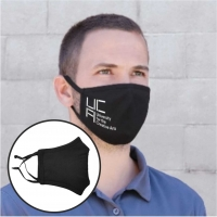 Black Cotton Face Mask (Covid-19 Coronavirus)