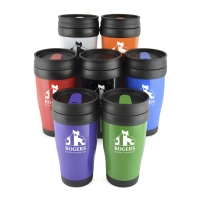 Polo Tumbler Thermal Travel Cup - REDUCED