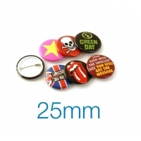 Button Badge 25mm Diameter