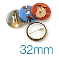 Button Badge 32mm Diameter