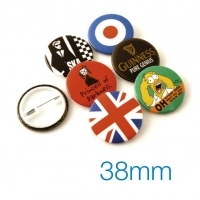 Button Badge 38mm Diameter