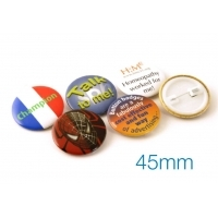Button Badge 45mm Diameter