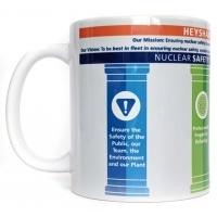 White ceramic mugs - full colour print
