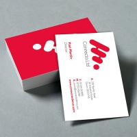 Deluxe Business Cards (450gsm laminated)
